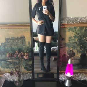 Nasty Gal Thigh High Boots NWOT